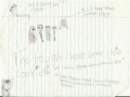 The Tough Chocolate Chip Cookies by JamieTigre