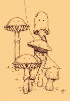 Shrooms by MIDeviant