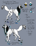 Ref sheet- Guardian of Time by Narncolie