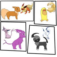 Random mons from memory by IceHeartTheWarrior