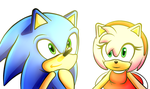 Sonic and Amy by Eliza-BETA
