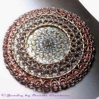 Chainmaille Wall_Window Decor by sanikicreations