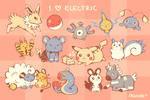 I Love Electric by Paleona