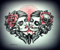 HEARTBEAT tattoo design by MWeiss-Art