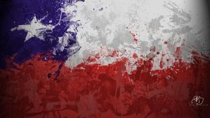 Chilean Flag Wallpaper by GaryckArntzen