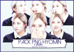 Pack PNG Hyomin #1 by Sophia-Park