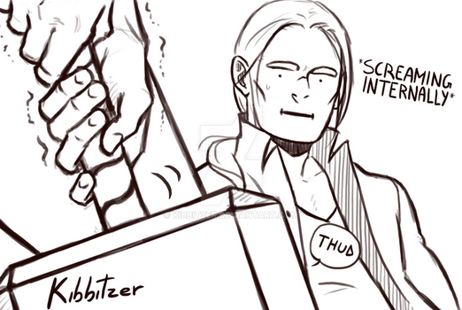 Thor SCREAMING INTERNALLY by Kibbitzer