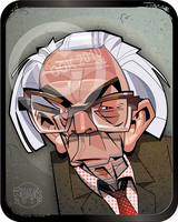 Michael Foot by RussCook