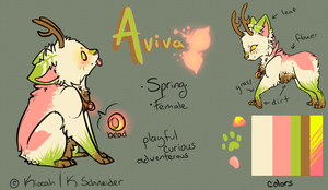 Reference: Aviva by Kiocah
