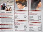La Napa Salon Trifold inside by Click-Art