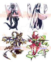 [closed] Adopt - Demon creatures ( Devil #11 ) by ANJAP93-adopts