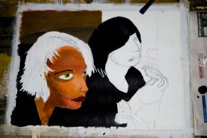 Unfinished Painting for School by nokel