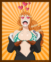 We are... Nami! - One Piece chapter 663 by SergiART