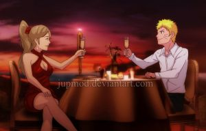 NaruYugito: Lovely Sunset Dinner with You by JuPMod