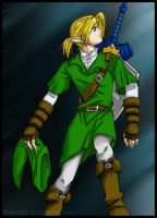 LoZ-Link Coloured by Ranefea