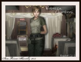 RE Zero Rebecca Chambers by IamRinoaHeartilly