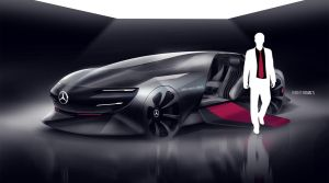 Mercedes Modern Luxury #01 by roobi