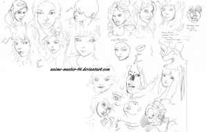 Faces practice by anime-master-96