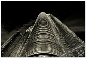 Twin Tower -3- by Maruli786