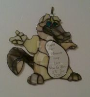 platypus Stained Glass by Veggie-San
