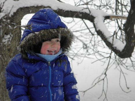 Boy in the snow by beyonce03