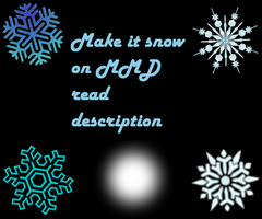 Snow Download Pack (diffrent versions of snow) by doremefasoladedo
