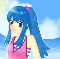 dawn-swimsuit by bluemanaphy