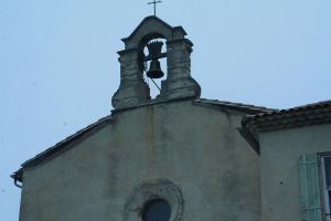 church with bells provence by ingeline-art