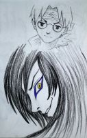 Orochimaru and Kabuto by Persefone999