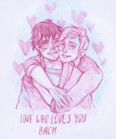 Love Who Loves You Back by DaryaSpace