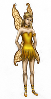 Nelena - Fairy of Youth (colored) by FalseDisposition