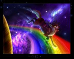 Rainbow Road by Starcanis