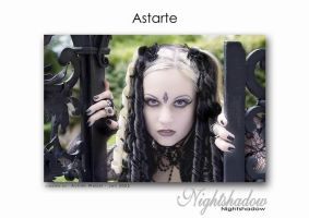 Gothic Model Astarte by Nightshadow-PhotoArt