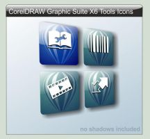 CorelDRAW Graphics Suite X6 Tools by LustaufMeer