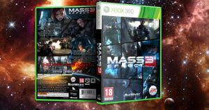 Mass Effect 3 360 Cover by ToHeavenOrHell