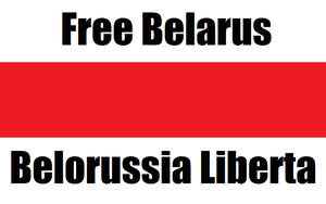 Free Belarus by gingerbynight