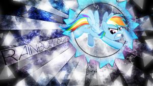 Rainbow Dash Winter Storm by ALoopyDuck