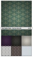 Flowers Patterns V.02 by JuliaPainter