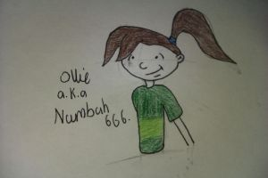 KND- Numbuh 666 aka Ollie by MyVisionIsDying