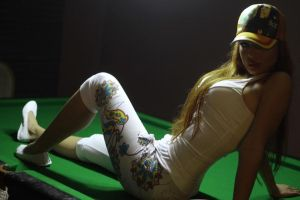 pool girl by morilovepink