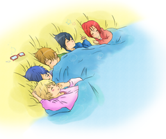 Free! - Nap Time by pastelteapot