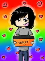 I Love This Tablet by BritishNicky