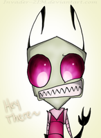:Hey: by Invader--ZIM