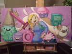 Adventure Time: Fionna by pinksnowdevil