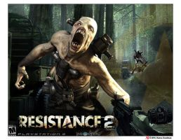 Resistance 2 Graphic Design by pinkaholicgurl