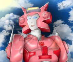 Elita One -In thought- by Lady-Elita-One