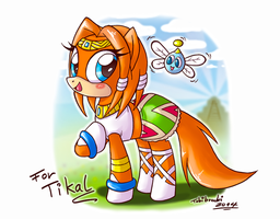 Tikal the Pony by Tobibrocki