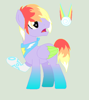 {AUCTION} Techie Rainbow Stallion CLOSED by sparkIinq