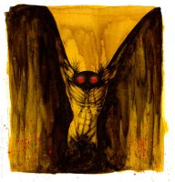 The Mothman by el-roacho