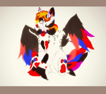 Adoptable Jester/clown Creature :CLOSED: by Bacon-Paws